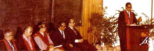 1974 - 1st Oration by YAA Tun Mohamed Suffian b. Hashim (Lord President)